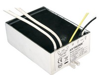 The MULTIPOINT Non-dimmable HID Electronic Ballasts type HM 0035 are designed for 35W CDM, CHM and HCI lamps.  These MULTIPOINT HID Ballasts are build-in types (IP43) with lead wires of 20 cm.  These MULTIPOINT HID Ballasts combine compact, high power factor and low THD (<10) with automatic self diagnose who indicates failures and abnormal operations like ignition failure, overheat, lamp failure, EOL etc.  HM 0150 for 150W lamp types and Step dimmable ballasts for HID lamps are in progress.